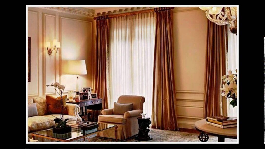 Large Size of Ideen Gardinen Wohnzimmer Modern Youtube Für Küche Tapeten Schlafzimmer Fenster Bad Renovieren Die Scheibengardinen Wohnzimmer Ideen Gardinen