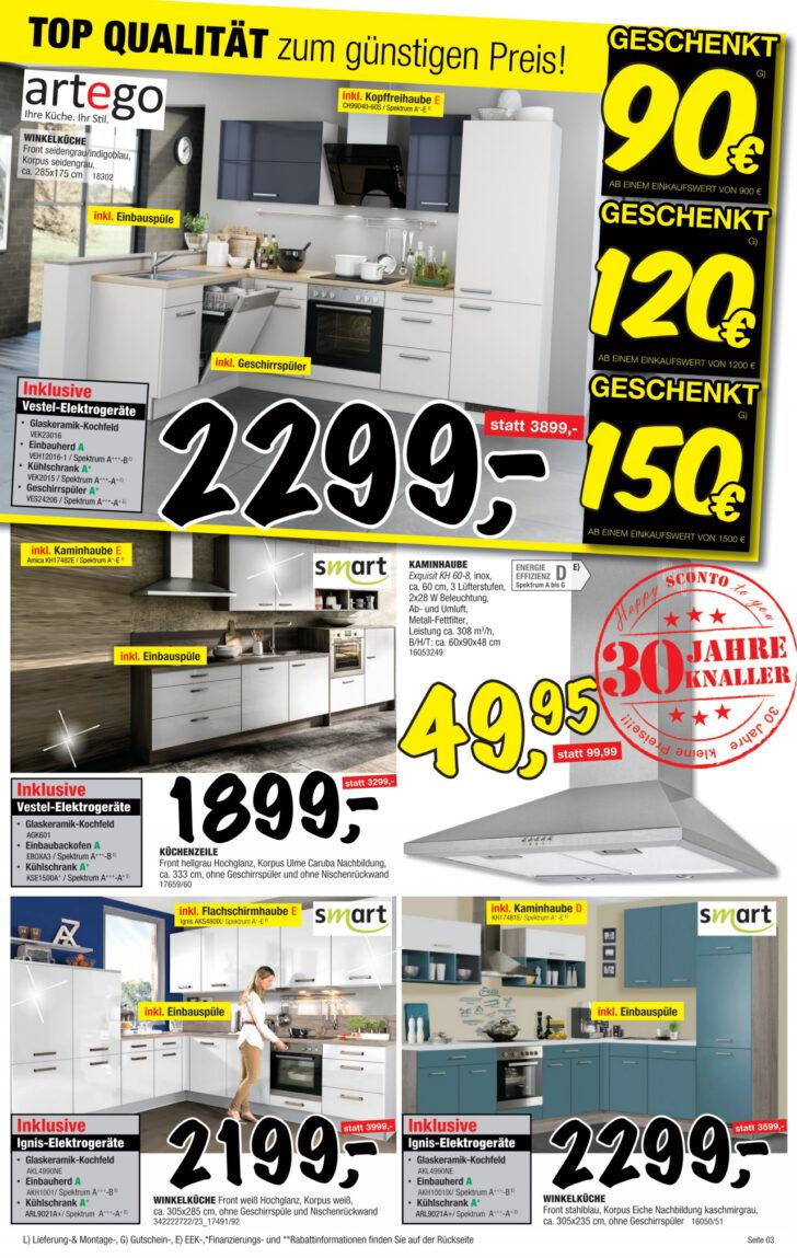 Medium Size of Sconto Küchen Regal Wohnzimmer Sconto Küchen