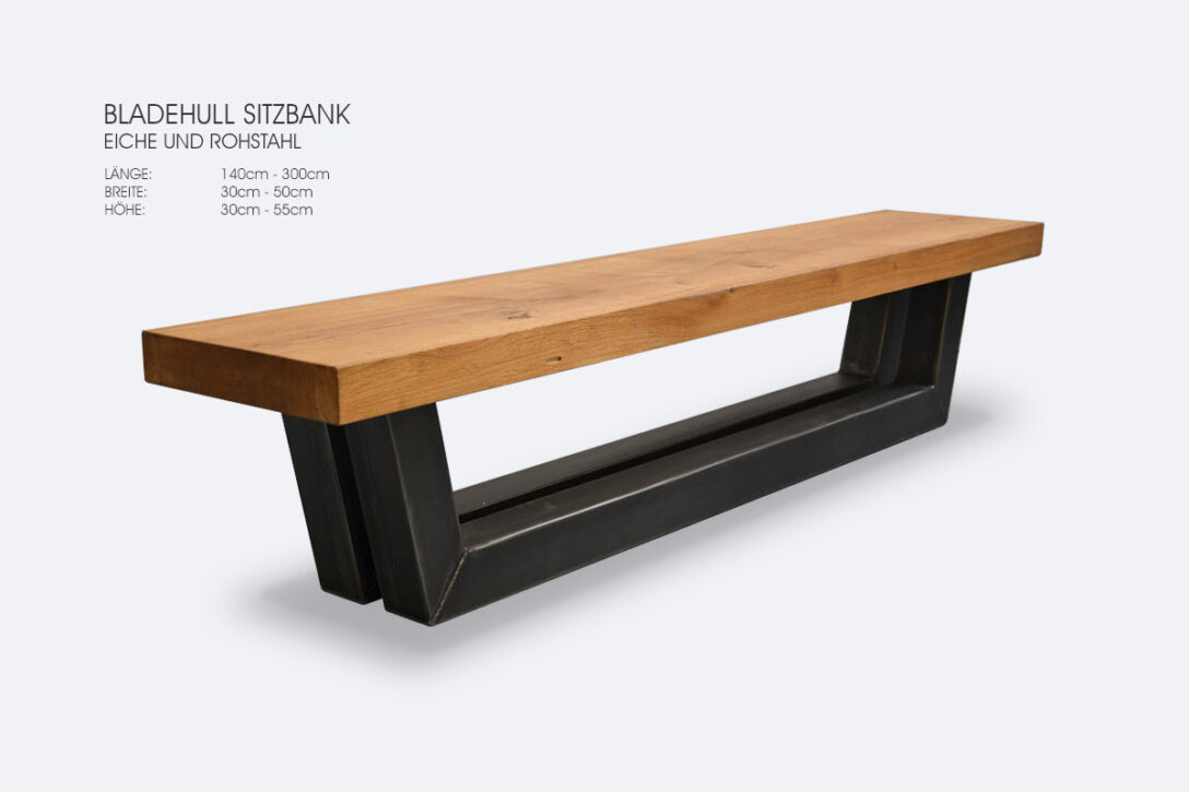 Large Size of Schmale Sitzbank Tischfabrik24 Bladehull Schmales Regal Bad Garten Regale Küche Bett Schlafzimmer Mit Lehne Wohnzimmer Schmale Sitzbank