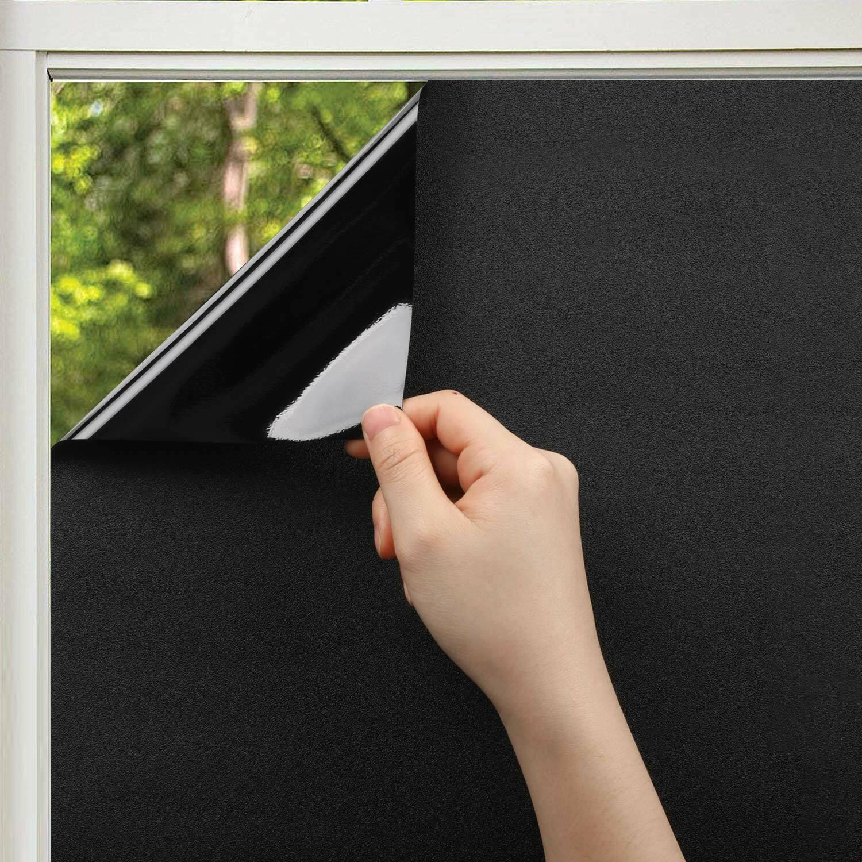 Full Size of Fensterfolie Blickdicht Kinlo Sichtschutzfolie Selbstklebend Wohnzimmer Fensterfolie Blickdicht