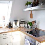 Dachgeschoss Kche Einrichten Design Dots Glaswand Küche Bodenfliesen Billige Rückwand Glas Industrie Fettabscheider Einbauküche Gebraucht U Form Barhocker Wohnzimmer Küche Dachgeschoss