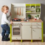 Musterkind Spielkche Aus Holz Salvia Creme Grn Kinder Spielküche Wohnzimmer Spielküche