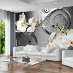 Wandbilder Wohnzimmer Modern Xxl Wohnzimmer Wandbilder Wohnzimmer Modern Xxl Fototapeten Tapete Fototapete Vlies Blumen Orchidee Moderne Esstische Küche Sofa Kleines Wohnwand Bilder U Form Betten