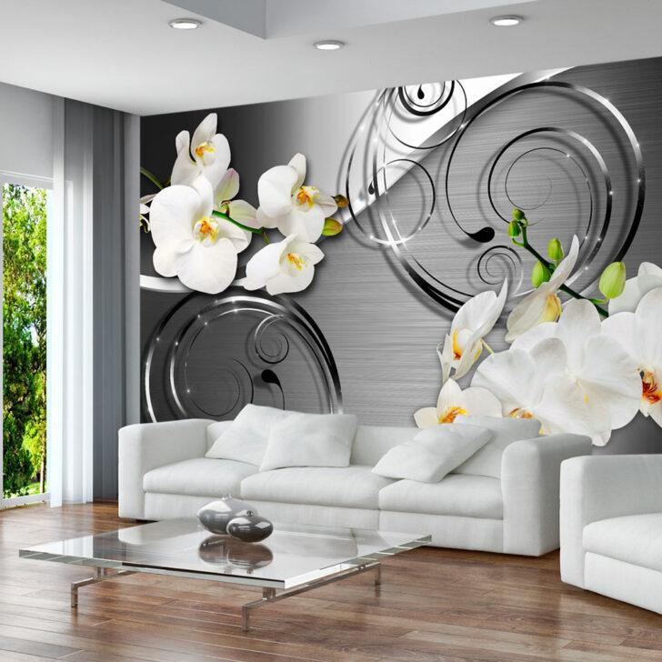 Medium Size of Wandbilder Wohnzimmer Modern Xxl Fototapeten Tapete Fototapete Vlies Blumen Orchidee Moderne Esstische Küche Sofa Kleines Wohnwand Bilder U Form Betten Wohnzimmer Wandbilder Wohnzimmer Modern Xxl