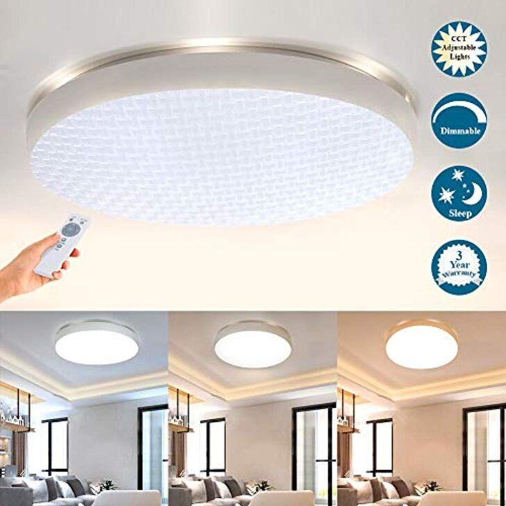 Deckenlampe Led Deckenleuchte Mit Fernbedienung Dimmbar Wohnzimmer Küche Stehlampe Wandbild Vorhang Kunstleder Sofa Relaxliege Moderne Deckenlampen Modern Wohnzimmer Deckenlampe Led Wohnzimmer