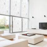 Wohnzimmer Fensterfolie Blickdicht