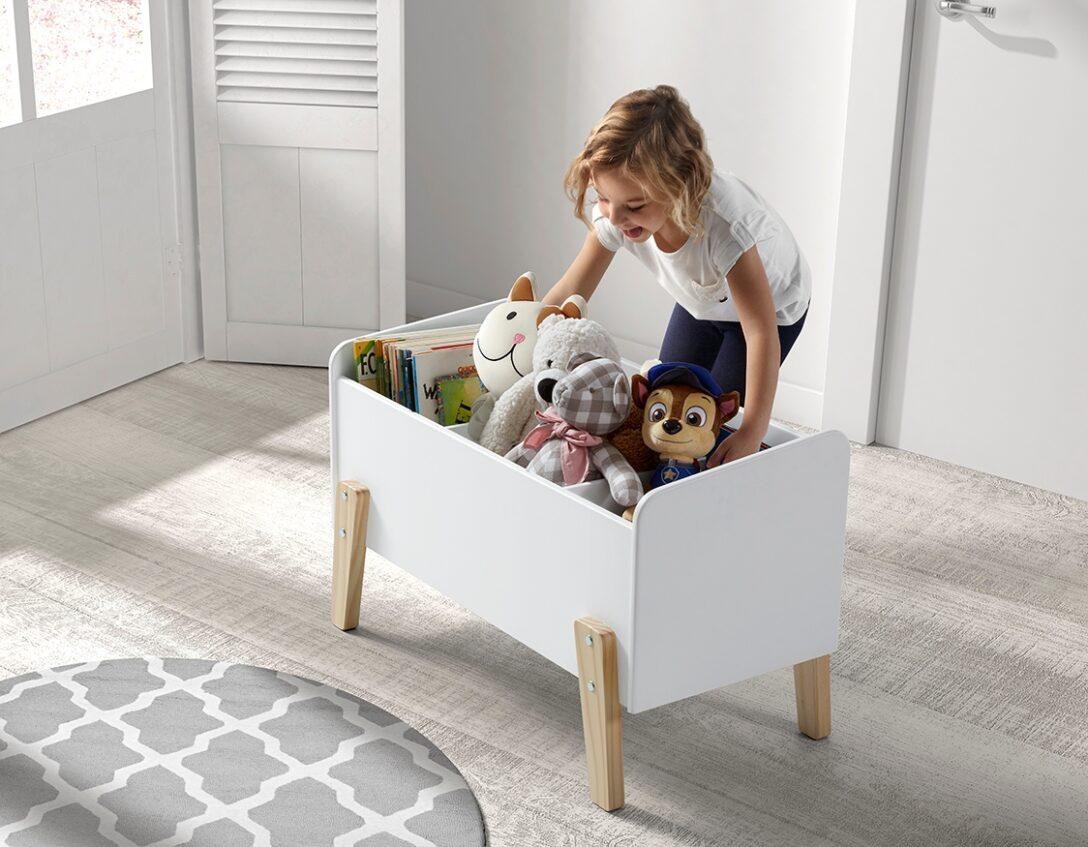 Large Size of Aufbewahrungsbox Kinderzimmer Spielzeugkiste Wei Holz Dinky Online Kaufen Furnart Regale Garten Sofa Regal Weiß Wohnzimmer Aufbewahrungsbox Kinderzimmer