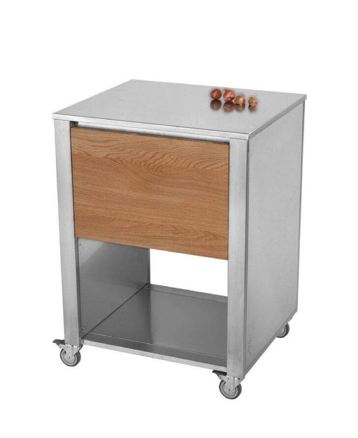 Medium Size of Cun Base1 Eiche Kchenwagen Aus Edelstahl Serie Mit Einer Edelstahlküche Gebraucht Outdoor Küche Garten Wohnzimmer Küchenwagen Edelstahl