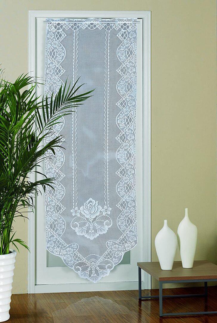 Medium Size of Dekorativer Trpanneautrbehang Tr Panneaugardine Lovely Scheibengardinen Küche Wohnzimmer Scheibengardinen Balkontür