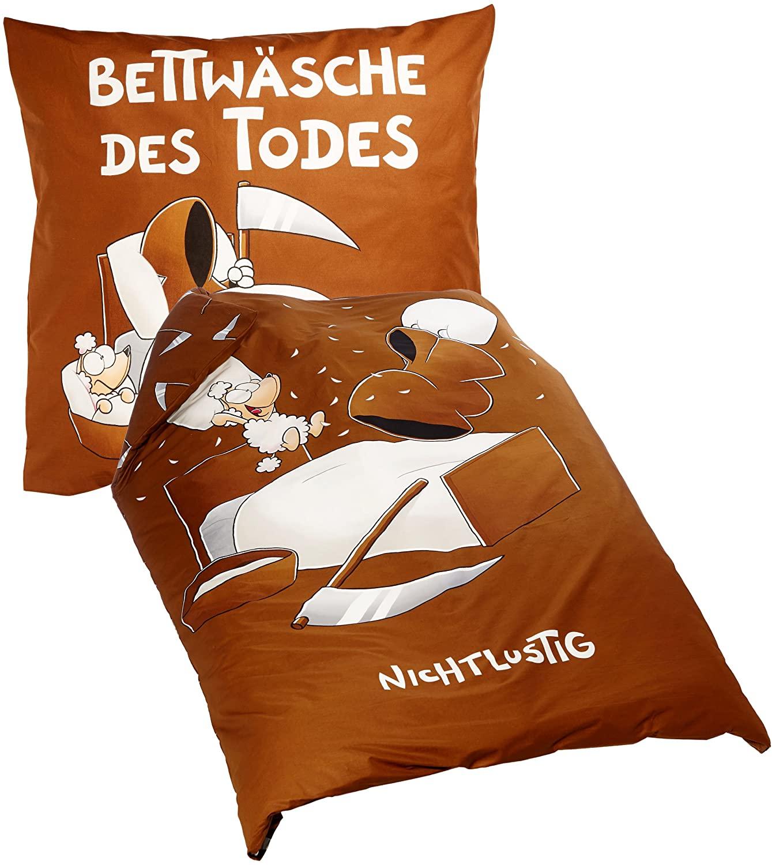 Full Size of Herding 441234050 Bettwsche Nicht Lustig Lustige T Shirt Sprüche Bettwäsche T Shirt Wohnzimmer Bettwäsche Lustig