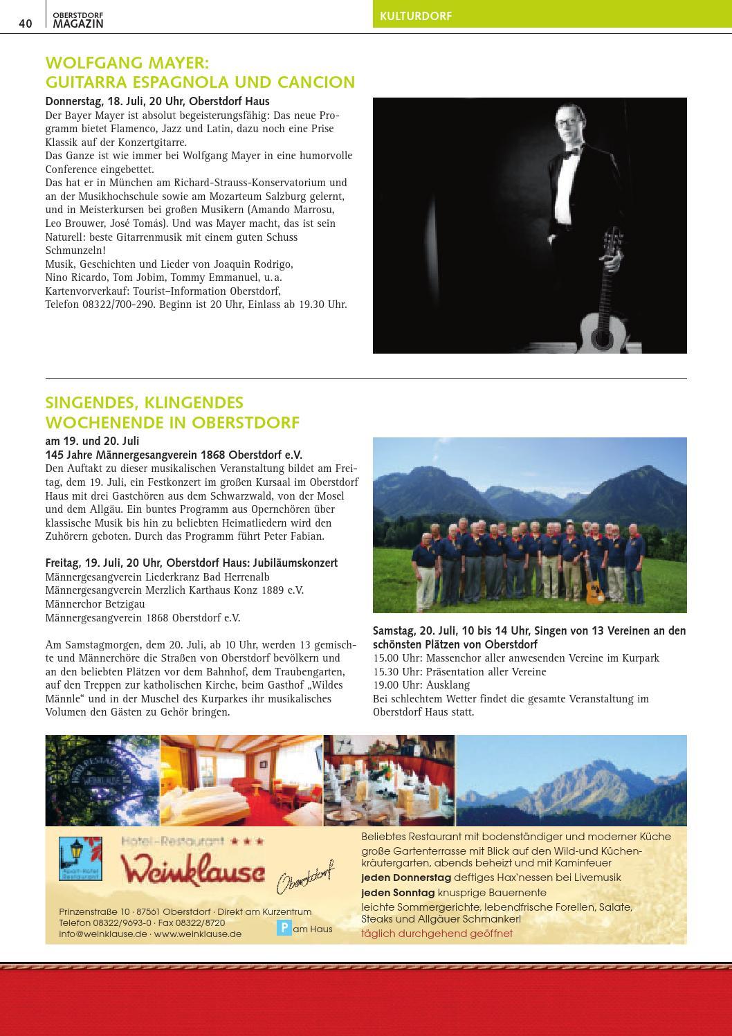 Full Size of Oberstdorf Magazin 7 2013 By Tourismus Wohnzimmer Küchenkräutergarten