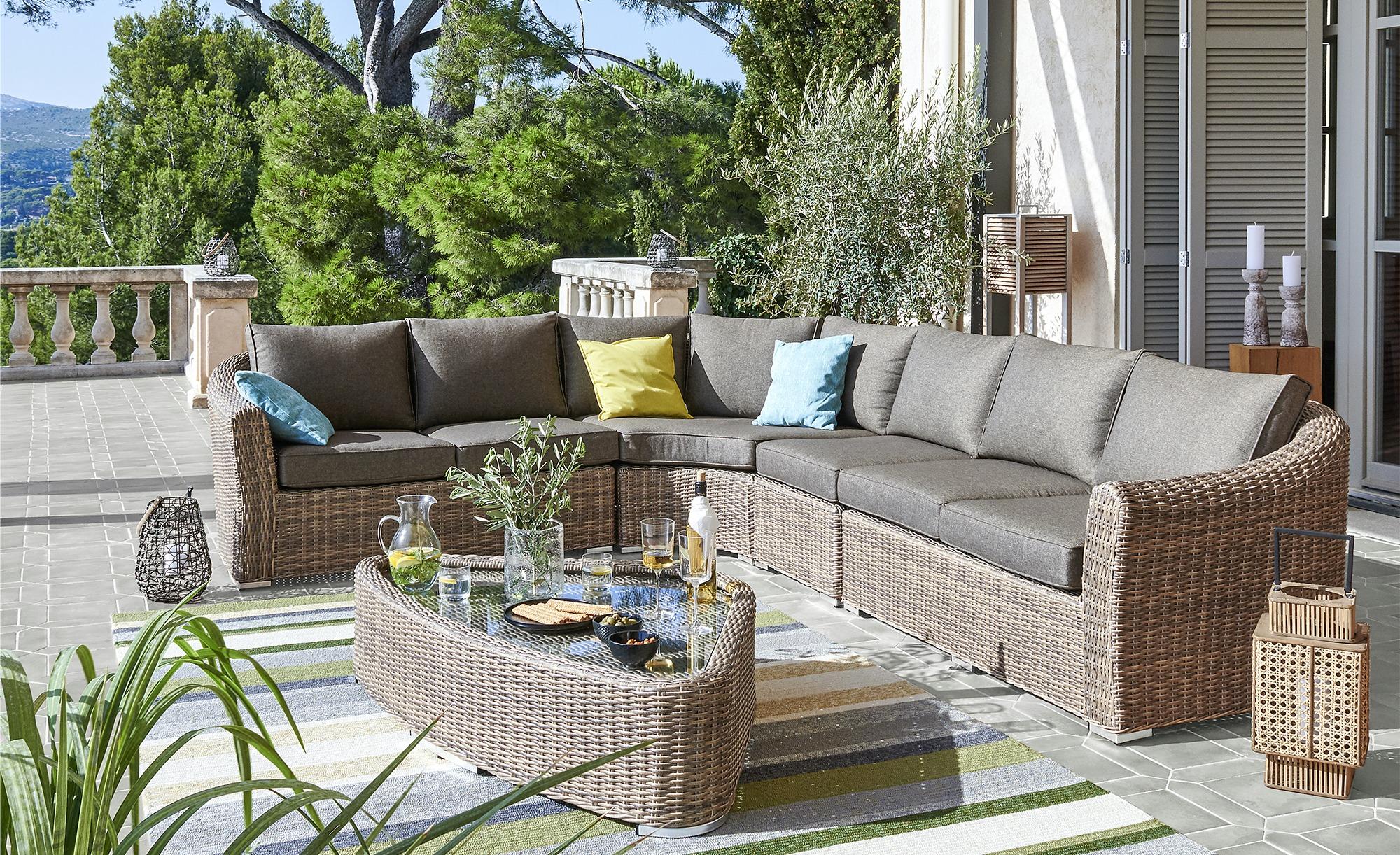 Full Size of Kalibo Sitzgruppe 6 Teilig Geflecht Garten Loungembel Outliv 6 Teilig Und Küche Wohnzimmer Outliv. Kalibo Sitzgruppe 6 Teilig Geflecht
