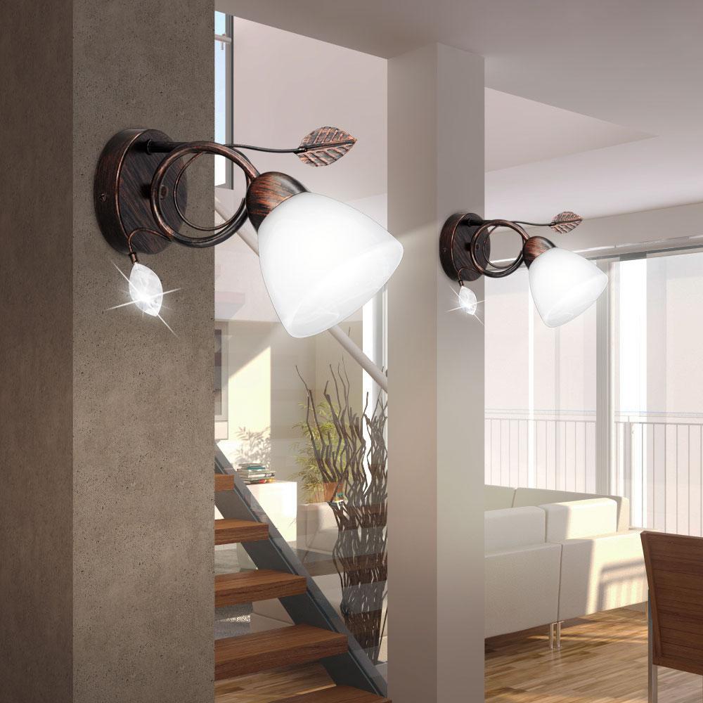 Full Size of Details 2er Leuchten Set Wand Treppenhaus Strahler E14 Glas Bett Landhausstil Sofa Lampen Badezimmer Bad Led Designer Esstisch Regal Landhaus Deckenlampen Für Wohnzimmer Landhaus Lampen