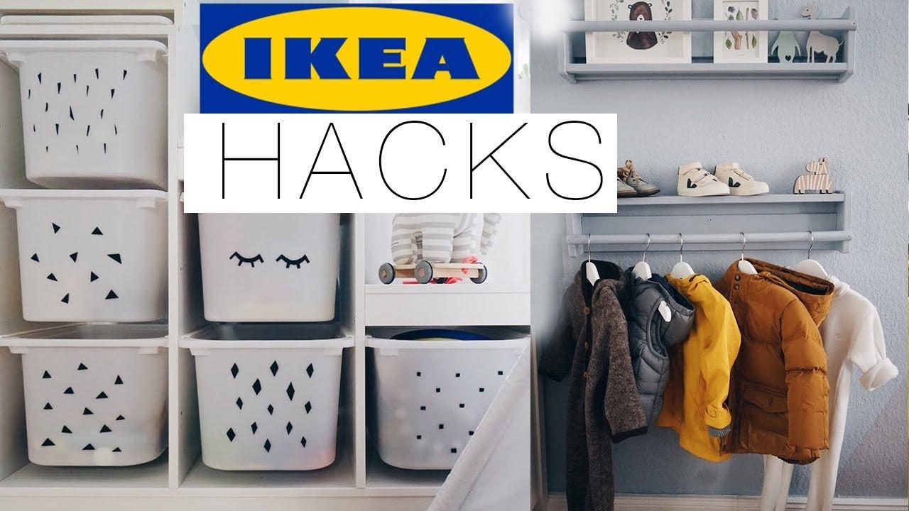 Full Size of Ikea Hacks Aufbewahrung Einfache Fr Das Kinderzimmer Eileena Ley Youtube Betten 160x200 Miniküche Mit Aufbewahrungsbox Garten Aufbewahrungssystem Küche Wohnzimmer Ikea Hacks Aufbewahrung