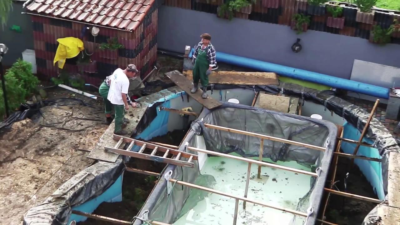 Full Size of Gebrauchte Gfk Pools Kaufen Schwimmbecken Aus Polen Pool Gartenpool Einbauküche Küche Verkaufen Fenster Betten Regale Wohnzimmer Gebrauchte Gfk Pools