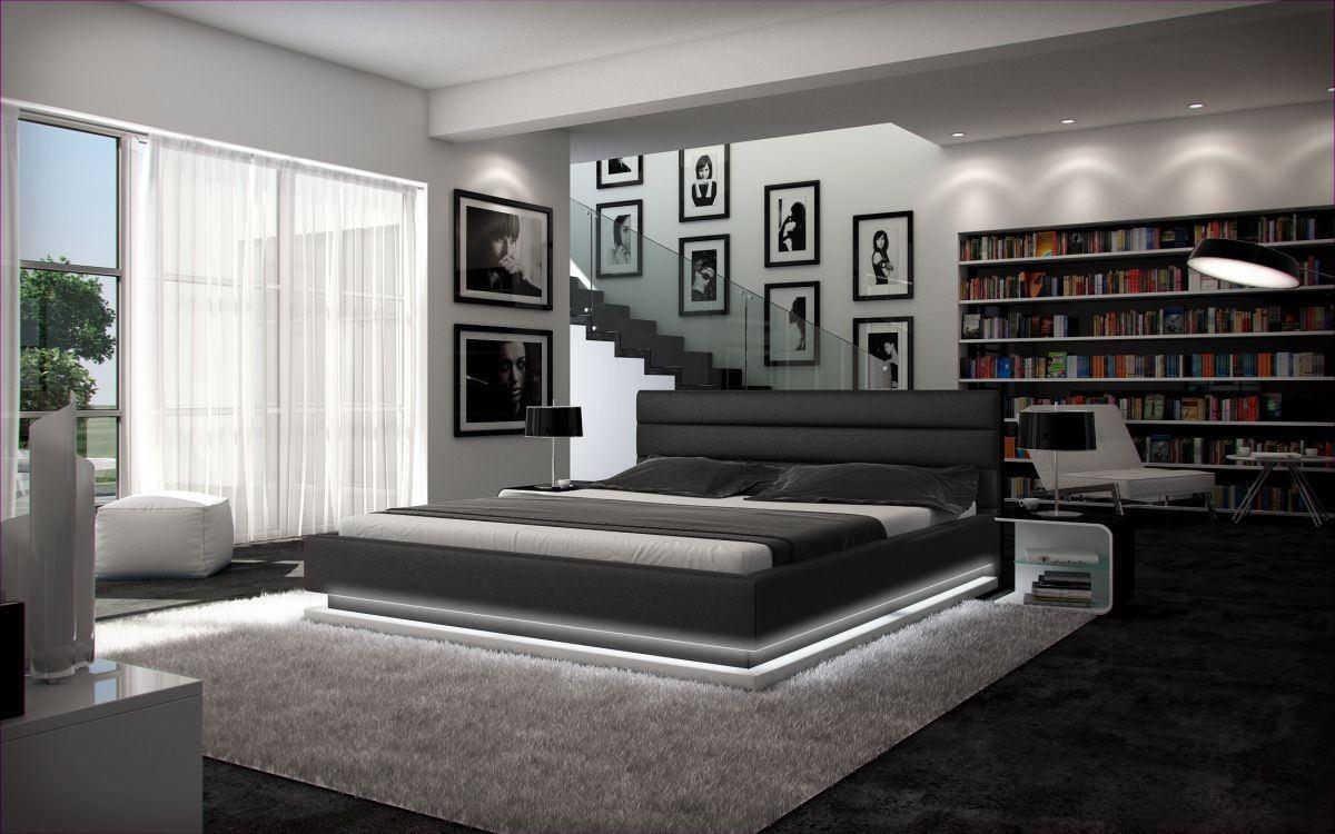 Full Size of Schlafzimmer Komplett Schwarz Wasserbett Moonlight Komplettes Bett Im Set Mit Modernem Design Sessel Massivholz Weiss Günstig Schranksysteme Poco Vorhänge Wohnzimmer Schlafzimmer Komplett Schwarz