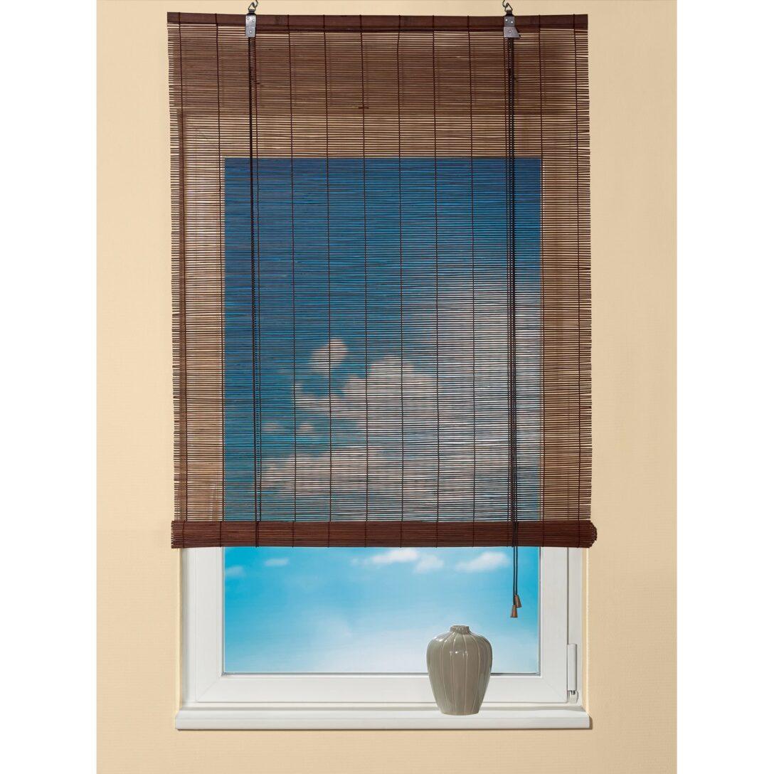 Large Size of Obi Bambus Raffrollo 80 Cm 160 Teak Kaufen Bei Küche Wohnzimmer Raffrollo Küchenfenster