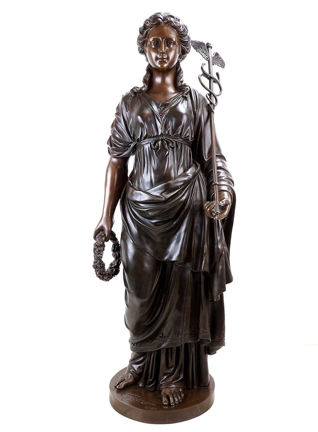 Large Size of Griechische Statue Hygieia Gttin Der Gesundheit Bett Kaufen Hamburg Küche Mit Elektrogeräten Sofa Online Betten Günstig 180x200 Garten Pool Guenstig Velux Wohnzimmer Gartenskulpturen Kaufen