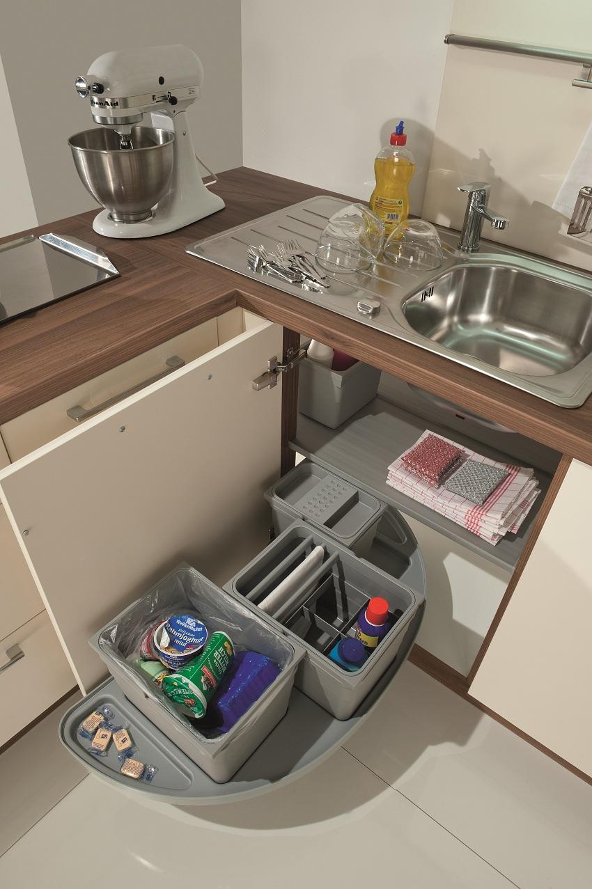 Full Size of Eckschränke Küche Innovative Abfalltrennsysteme Fr Kche Amk Ikea Kosten Einzelschränke L Mit E Geräten Sitzgruppe Kaufen Günstig Landküche Nolte Fliesen Wohnzimmer Eckschränke Küche
