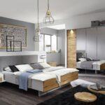 Schlafzimmer Komplett Mit 5 Trigen Kleiderschrank In Grau Und Kommode Weiß Deckenlampe Günstige Stuhl Kronleuchter Set Günstig Komplette Deko Für Betten Wohnzimmer Schlafzimmer Komplett