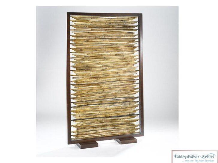 Medium Size of Paravent Bambus Raumteiler Sichtschutz Aus Mit Holzrahmen Garten Bett Wohnzimmer Paravent Bambus