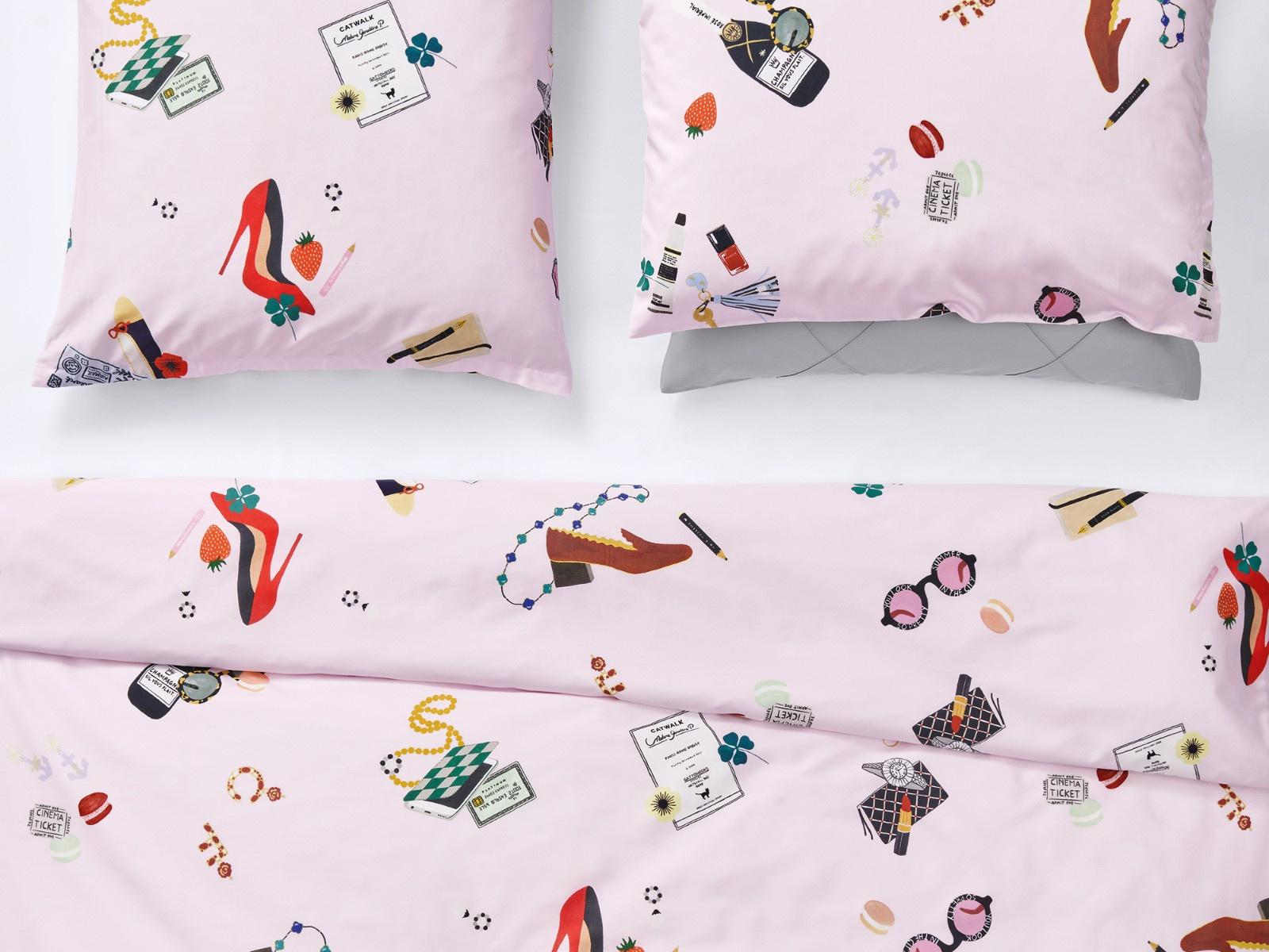 Full Size of Christian Fischbacher Catwalk Neue Kollektion 2020 Textile Trume Bettwäsche Sprüche Lustige T Shirt T Shirt Wohnzimmer Lustige Bettwäsche 155x220