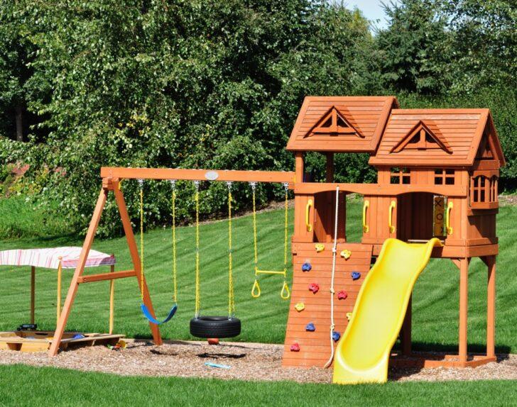 Medium Size of Schaukel Spielturm Einbetonieren Sakret Metall Regal Regale Bett Weiß Wohnzimmer Gartenschaukel Metall
