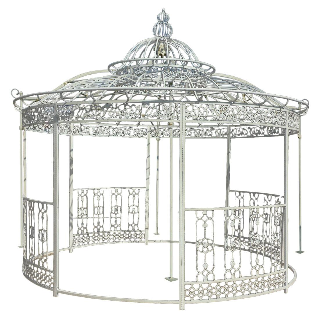 Large Size of Pavillon Eisen Aus Pietre E Arredi Giardino Antiquitten Garten Wohnzimmer Pavillon Eisen