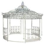 Pavillon Eisen Wohnzimmer Pavillon Eisen Aus Pietre E Arredi Giardino Antiquitten Garten