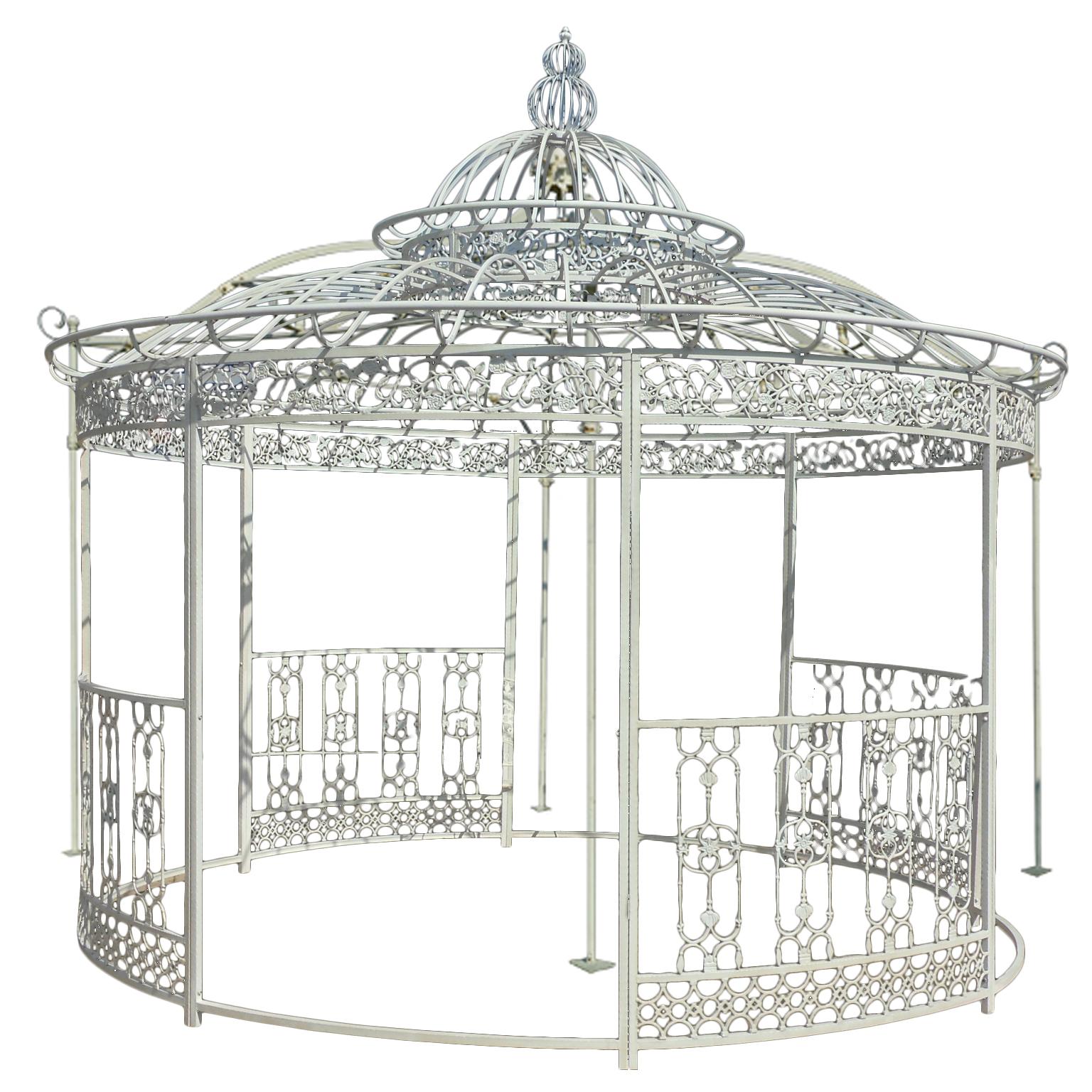 Full Size of Pavillon Eisen Aus Pietre E Arredi Giardino Antiquitten Garten Wohnzimmer Pavillon Eisen