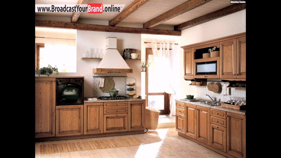 Large Size of Kleine Kche Landhausstil Holz Balken Design Youtube Eckunterschrank Küche Doppelblock Alno Hängeschränke Hochschrank Wanddeko Mit E Geräten Günstig Wohnzimmer Küche Landhausstil Holz