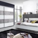 Schlafzimmer Komplett Modern Massiv Weiss Luxus Set 3 Teilig Doppelbett 180x200cm Betonoptik Günstig Gardinen Bett 160x200 Landhaus Deckenlampe Landhausstil Wohnzimmer Schlafzimmer Komplett Modern
