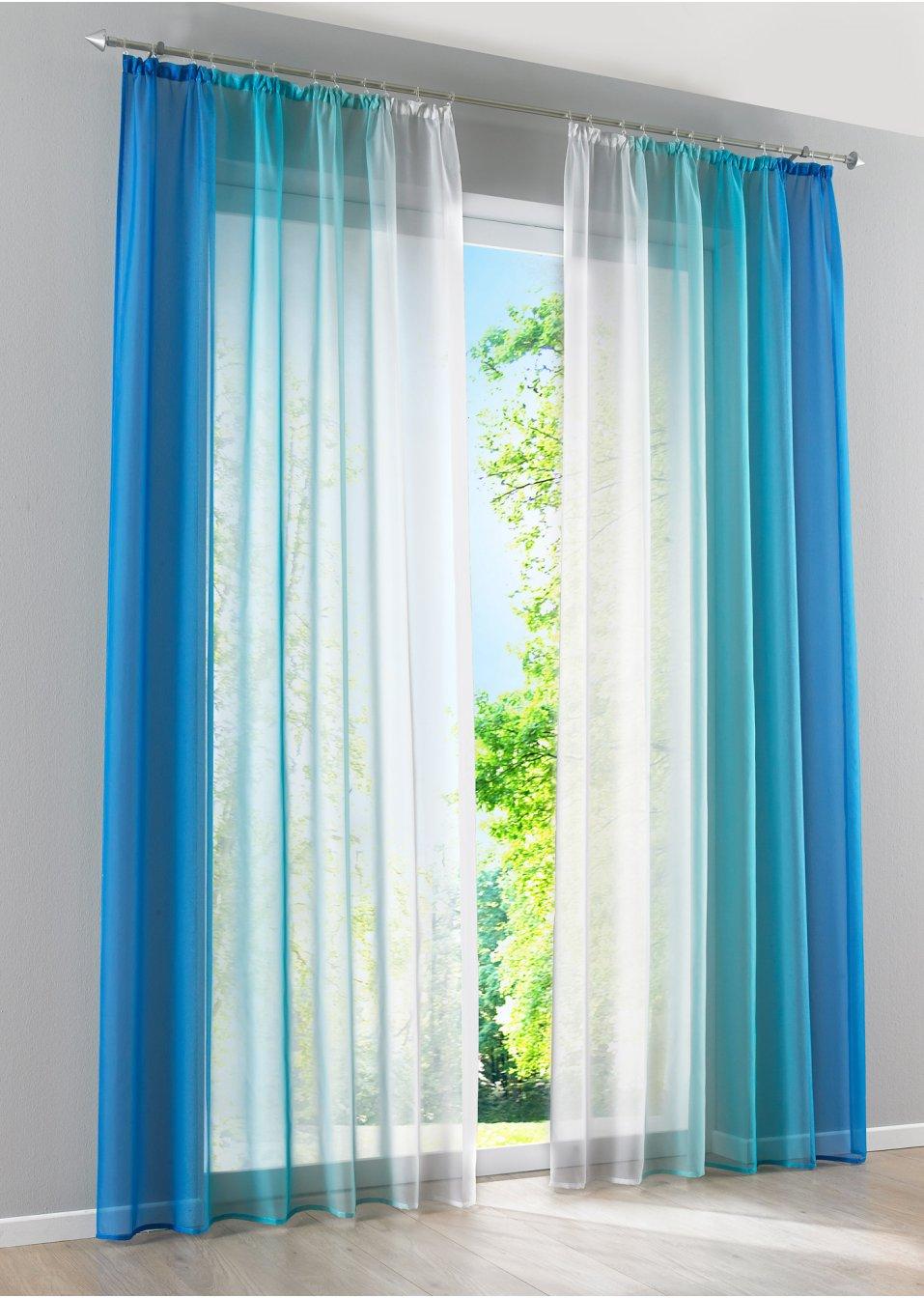Full Size of Bon Prix Vorhänge Farblicher Hingucker Fr Dein Fenster Blau Schlafzimmer Wohnzimmer Küche Bonprix Betten Wohnzimmer Bon Prix Vorhänge