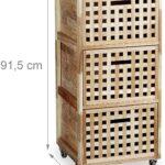Rollwagen Holz Rollcontainer Mit 3 Fchern Walnuss Hbt Ca 91 Altholz Esstisch Schlafzimmer Massivholz Bad Waschtisch Holzplatte Bett Betten Loungemöbel Garten Wohnzimmer Rollwagen Holz