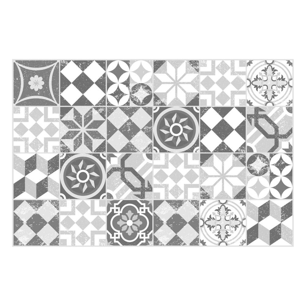 Full Size of Matteo Bodenmatte Vinyl Bedruckt 60 90 Cm Mosaik Grau Contento Vinylboden Im Bad Verlegen Wohnzimmer Teppich Für Küche Schlafzimmer Steinteppich Badezimmer Wohnzimmer Vinyl Teppich