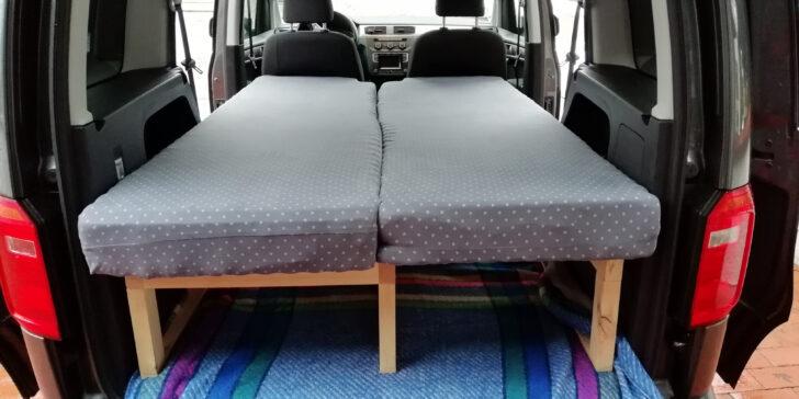 Medium Size of Diy Caddy Bett Zum Ausziehen Eine Baubeschreibung Mit Ausziehbett Wohnzimmer Ausziehbett Camper