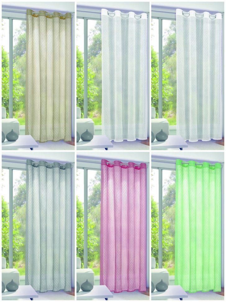 Medium Size of Otto Gardinen Senschal 135x245cm Vorhang Gardine Crush Optik Transparent Ottoversand Betten Für Die Küche Wohnzimmer Scheibengardinen Schlafzimmer Fenster Wohnzimmer Otto Gardinen