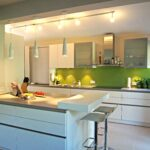 Freistehende Küchen Regal Küche Wohnzimmer Freistehende Küchen