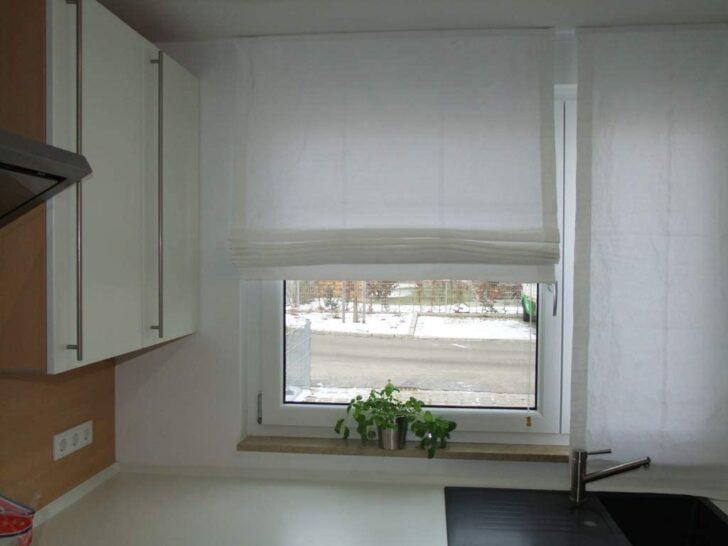Medium Size of Lemos Home Raffrollo Aus 100 Baumwolle Blickdichtes Stoffrollo Küche Wohnzimmer Raffrollo Küchenfenster