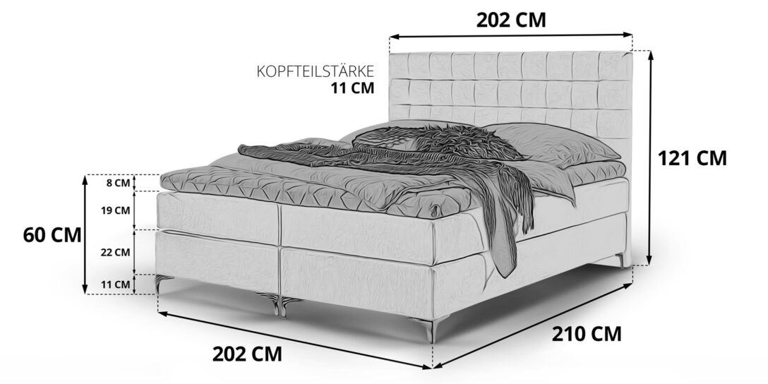 Large Size of Chesterfield Bett Samt 200x200 Boxspringbett Grau Chromfuesse Pisa Skizze Schlafzimmer Betten Sofa Mit Bettfunktion Möbel Boss Stauraum 140x200 Wasser De 2m X Wohnzimmer Samt Bett 200x200