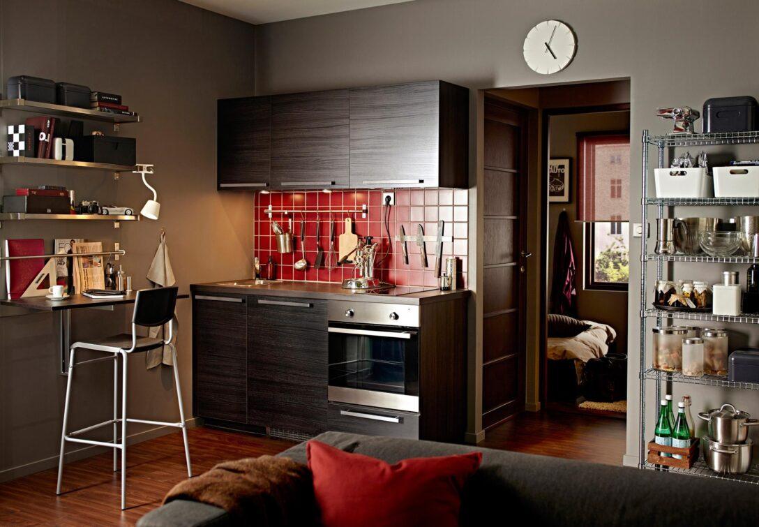 Large Size of Single Küche Ikea Pantrykche Wohnideen Fr Minikchen Bei Couch Bartisch Doppel Mülleimer L Mit E Geräten Einbauküche Elektrogeräten Was Kostet Eine Neue Wohnzimmer Single Küche Ikea