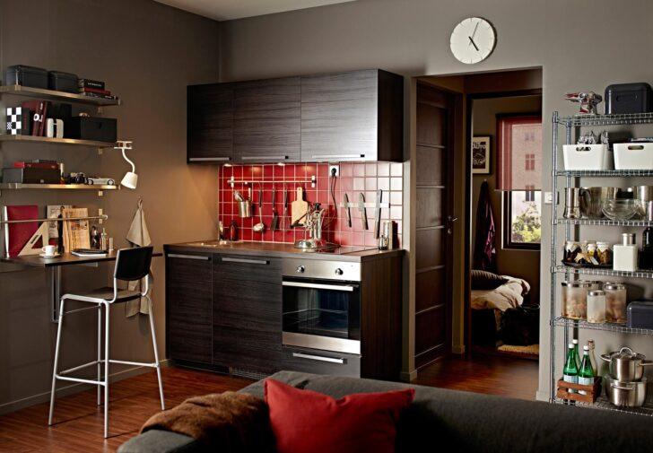 Medium Size of Single Küche Ikea Pantrykche Wohnideen Fr Minikchen Bei Couch Bartisch Doppel Mülleimer L Mit E Geräten Einbauküche Elektrogeräten Was Kostet Eine Neue Wohnzimmer Single Küche Ikea