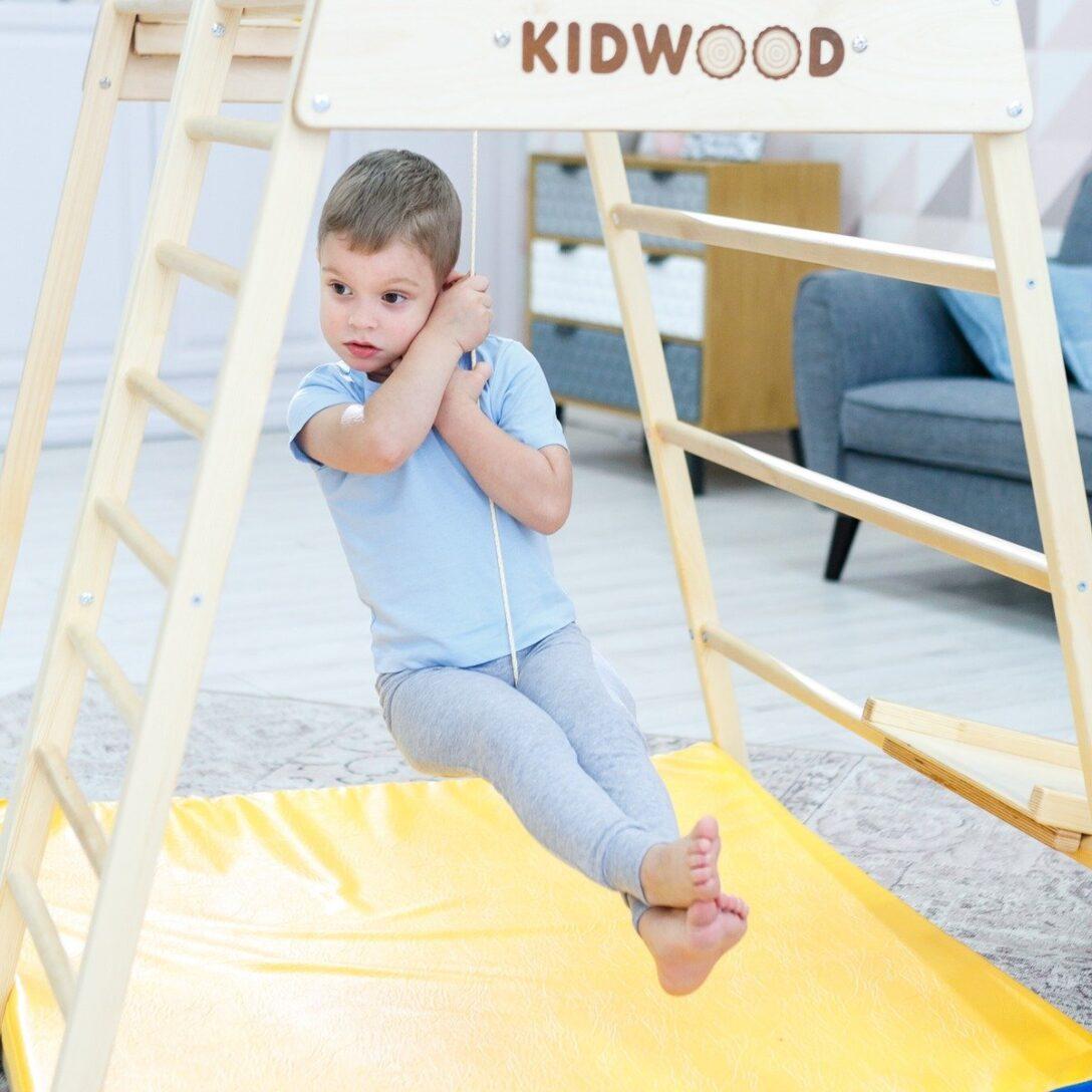 Large Size of Kidwood Klettergerüst 1 Klettergerst Rakete Sport Set Aus Holz Fr Indoor Garten Wohnzimmer Kidwood Klettergerüst