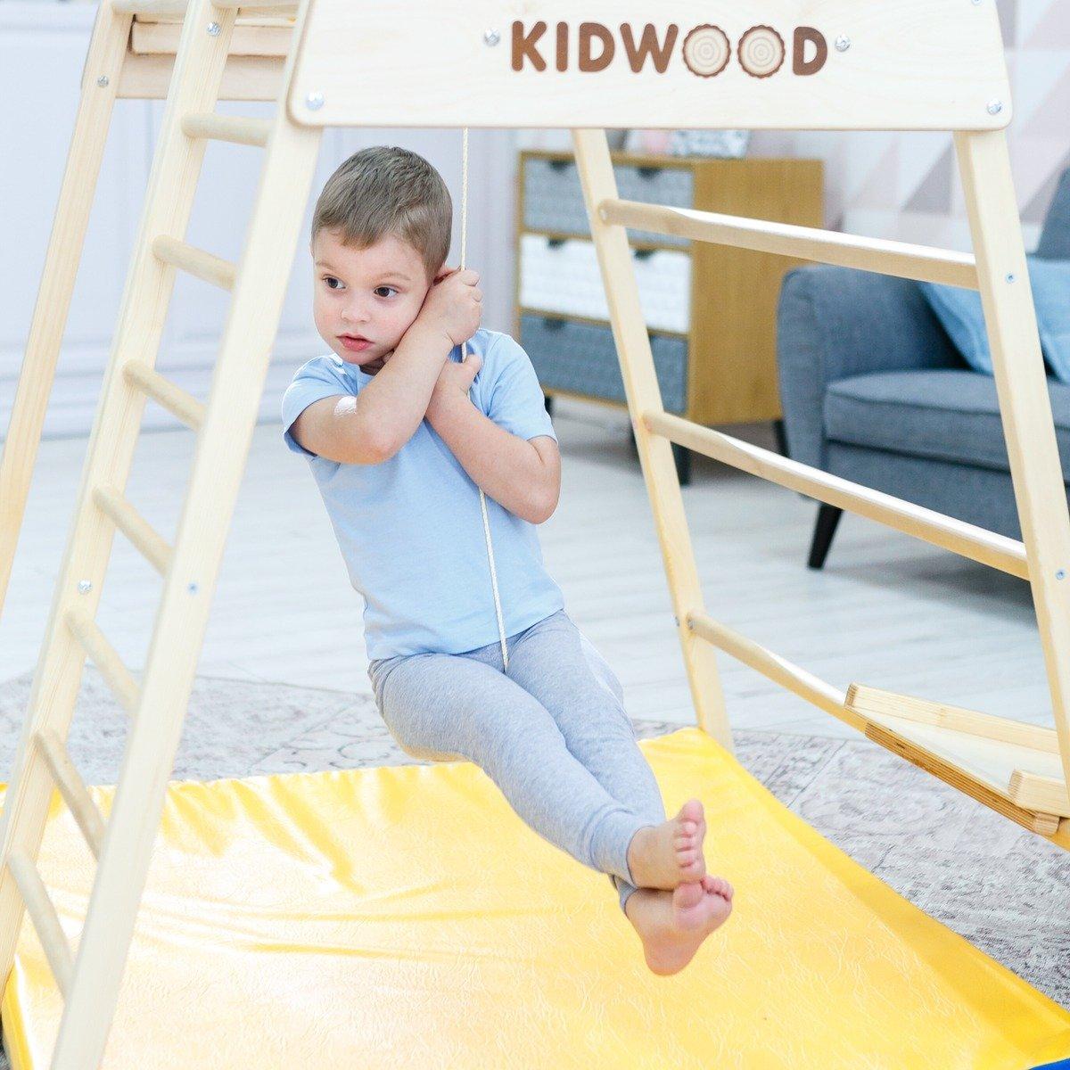 Full Size of Kidwood Klettergerüst 1 Klettergerst Rakete Sport Set Aus Holz Fr Indoor Garten Wohnzimmer Kidwood Klettergerüst