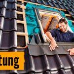 Dachfenster Einbau Velux Einbauanleitung Einbauen Genehmigung Video Preis Innenfutter Kosten Wechsel Lassen Dusche Fenster Rolladen Nachträglich Bodengleiche Wohnzimmer Dachfenster Einbauen