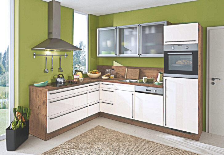 Medium Size of Nolte Küchen Glasfront Magnolie Wildeiche L Kche Fr Nur 2444 Hochwertige Kchen Küche Betten Regal Schlafzimmer Wohnzimmer Nolte Küchen Glasfront
