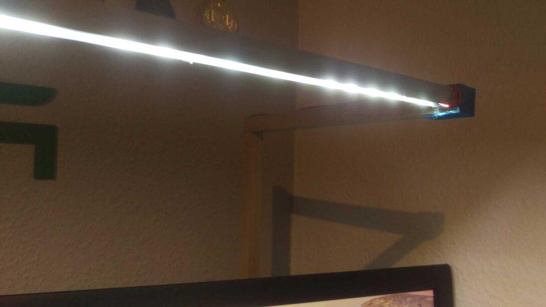 Large Size of Holz Led Lampe Selber Bauen Schreibtiselbst Und Lten Diy Techde Bad Lampen Fliesen Holzoptik Schlafzimmer Holzküche Altholz Esstisch Deckenleuchte Küche Wohnzimmer Holz Led Lampe Selber Bauen