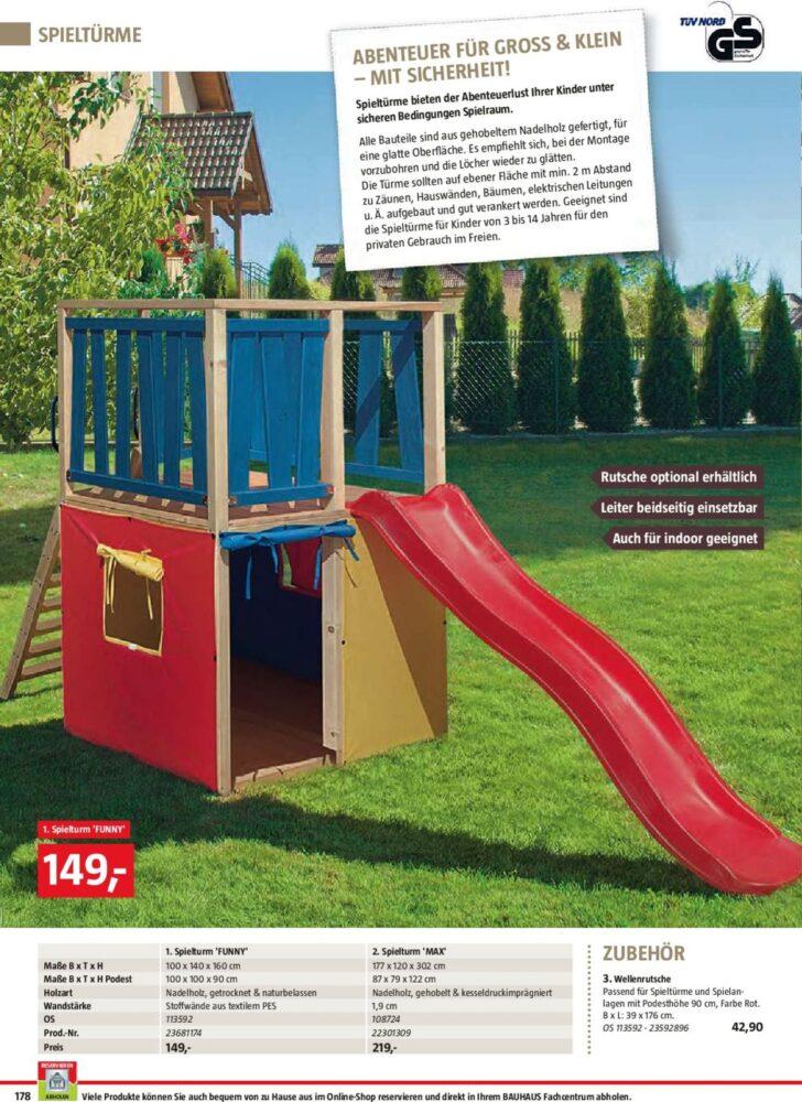 Medium Size of Spielturm Bauhaus Aktueller Prospekt 2503 30062019 178 Jedewoche Garten Kinderspielturm Fenster Wohnzimmer Spielturm Bauhaus