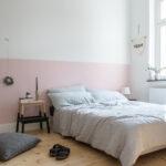 Altrosa Schlafzimmer Eine Rosa Wand Fr Das Neue Bettwsche Aus Leinen Sessel Deckenleuchten Massivholz Truhe Komplette Kommoden Set Mit Matratze Und Lattenrost Wohnzimmer Altrosa Schlafzimmer