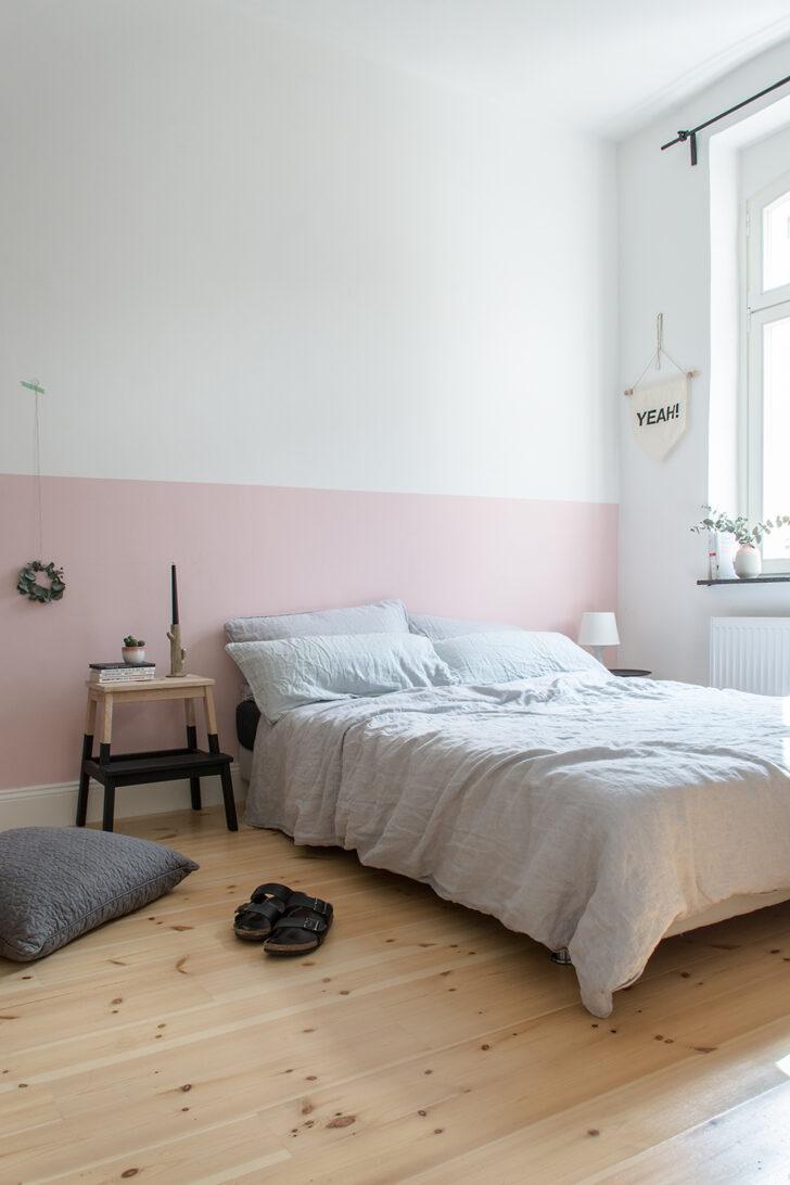 Medium Size of Altrosa Schlafzimmer Eine Rosa Wand Fr Das Neue Bettwsche Aus Leinen Sessel Deckenleuchten Massivholz Truhe Komplette Kommoden Set Mit Matratze Und Lattenrost Wohnzimmer Altrosa Schlafzimmer